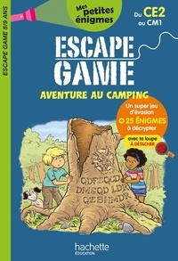 Charlotte Leroy-Jouenne et Dominique Fages - Escape game aventure au camping du CE2 au CM1.