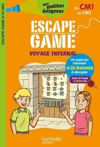 Charlotte Leroy-Jouenne et Philippe de La Fuente - Escape game voyage infernal.