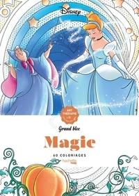 Charlotte Mendes - Disney Grand bloc Magie - 60 coloriages.