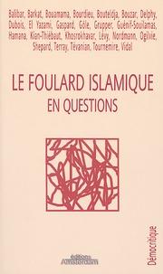 Charlotte Nordmann - Le foulard islamique en questions.