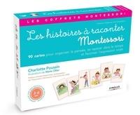 Charlotte Poussin - Les histoires à raconter - Avec 90 cartes et un livret.