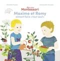 Charlotte Poussin - Ma journée Montessori - Romy aime faire toute seule.