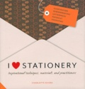Charlotte Rivers - I love stationery.