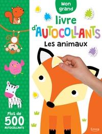 Télécharger des livres audio en espagnol gratuitement Mon grand livre d'autocollants Les animaux  - Plus de 500 autocollants
