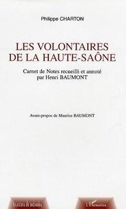 Charton - Les volontaires de la Haute-Saône.