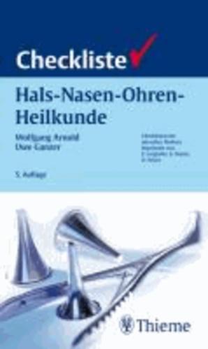 Checkliste Hals-Nasen-Ohren-Heilkunde.