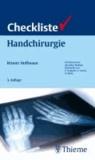 Checkliste Handchirurgie.