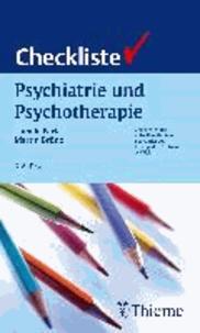 Checkliste Psychiatrie und Psychotherapie.