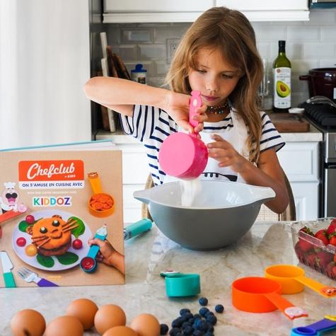 Coffret Chefclub Kids. On s'amuse en cuisine avec les tasses Chefclub