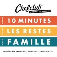 Chefclub - Coffret du quotidien - Moins de 10 minutes ; Cuisiner les restes ; Repas de famille.