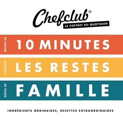 Coffret Du Quotidien Moins De 10 Minutes Cuisiner Les Restes Repas De Famille Grand Format