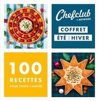 Chefclub - Coffret été/hiver - 100 recettes pour toute l'année, 2 volumes.