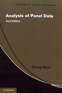 Analysis of Panel Data - Cheng Hsiao |