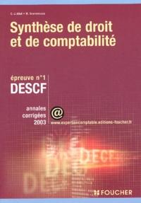 DESCF n° 1 Synthèse de droit et de comptabilité. Annales corrigées 2003.pdf