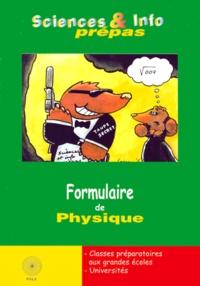 Formulaire de Physique - Chérif Zananiri | Showmesound.org