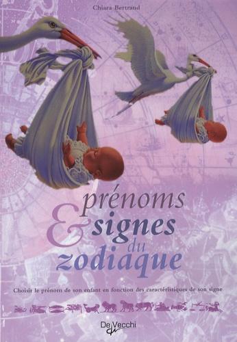 Chiara Bertrand - Prénoms et signes du zodiaque.