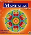Chiara Naccarato - Les plus beaux mandalas pour enfants - 85 dessins à colorier détendu et tranquille, concentré et équilibré avec les mandalas.