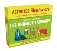 Télécharger le livre sur l'iphone 4 Découvre et nomme les animaux sauvages  - Avec le livret des parents en francais  9782017089698