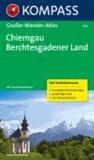 Chiemgau - Berchtesgadener Land - Großer Wanderatlas  mit 120 See-, Wald-, Rad- und Bergwanderungen.