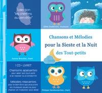 Gilles Diederichs et Aurore Breuillot - Chansons et mélodies pour la sieste et la nuit des tout-petits. 1 CD audio