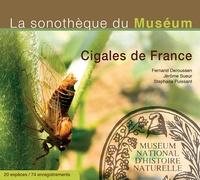 Fernand Deroussen - Cigales de France (Muséum). 1 CD audio