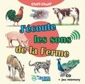 Fernand Deroussen - J'écoute les sons de la ferme - Avec un livret. 1 CD audio