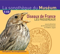 Fernand Deroussen - Oiseaux de France - encyclopédie. 5 CD audio