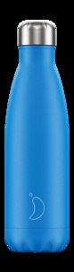 CHILLY'S - Gourde isotherme 500ML Blue Neon Chillys