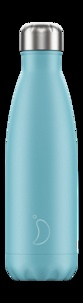 CHILLY'S - Gourde isotherme 500ML Blue Pastel Chillys