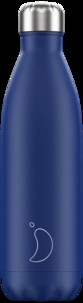 CHILLY'S - Gourde isotherme 750ML Blue Matte Chillys