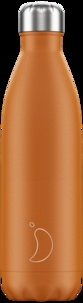 CHILLY'S - Gourde isotherme 750ML Burn Orange Matte Chillys