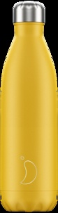 CHILLY'S - Gourde isotherme 750ML  Burn Yellow Matte Chillys