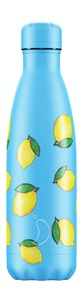 CHILLYS - Gourde isotherme 500ML Lemon New Icon Chillys
