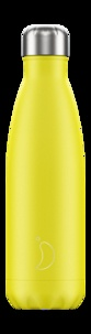 CHILLYS - Gourde isotherme 500ML Neon yellow Chillys