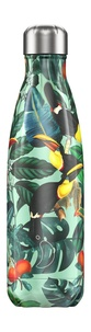 CHILLYS - Gourde isotherme 500ml Tropical Toucan Chillys