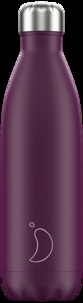 CHILLYS - Gourde isotherme 750ML  Purple Matte Chillys