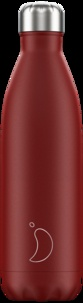 CHILLYS - Gourde isotherme 750ML Red Matte Chillys