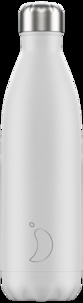 CHILLYS - Gourde isotherme 750ML White Monochrome Chillys