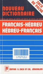 Chimchon Inbal - Nouveau dictionnaire pratique français-hébreu et hébreu-français Zack de poche.