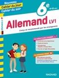 Chistine Mulliez - Cahier du jour/Cahier du soir Allemand LV1 6e + mémento.