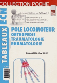 Chloé Abitbol et Meryl Dahan - Pole locomoteur - Orthopédie, traumatologie, rhumatologie.