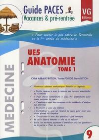 Chloé Arbault-Bitton et Yoann Poirot - UE5 Anatomie - Tome 1.