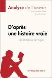 Chloé De Smet et Lucile Lhoste - D'après une histoire vraie de Delphine de Vigan (Analyse de l'ouvre) - Comprendre la littérature avec lePetitLittéraire.fr.