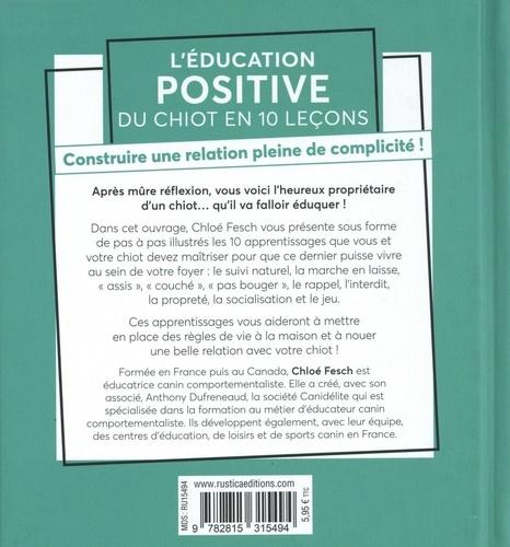 L'éducation positive du chiot en 10 leçons. Construire une relation pleine de complicité !