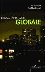 Chloé Maurel - Essais d'histoire globale.