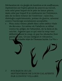 """Chloe Villard - Il est cinq heures dans un monde civilisé - Pourquoi je lis """"Septentrion"""" de Louis Calaferte."""