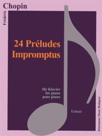 Rhonealpesinfo.fr Chopin - 24 préludes, impromptus - pour piano - Partition Image