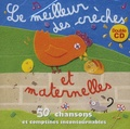 Chorale des Petits Anges - Le meilleur des crèches et des maternelles - 50 Chansons et comptines incontournables, 2 CD audio.
