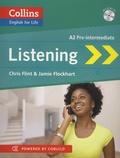 Chris Flint et Jamie Flockhart - Listening A2 Pre-intermediate. 1 CD audio MP3