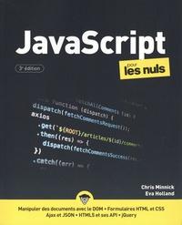 Chris Minnick et Eva Holland - JavaScript pour les nuls.